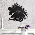 53903181 - Messken Metal Duvar Saati Şık ve Özgün Tasarım Siyah T39 - n11pro.com