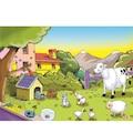 56306642 - Eksen Doğa ve Hayvanlar 35x25x0.8 CM 35 Parça Ahşap Puzzle - n11pro.com