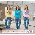 31313024 - Fapi 2413 Kız Garson Pijama Takım - n11pro.com