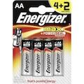 31611206 - Energizer Max Alkaline AA Kalem Pil 4+2'li - n11pro.com