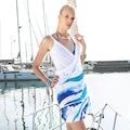 90081088 - Biggdesign AnemosS Dalga Plaj Elbisesi - n11pro.com