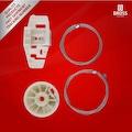 48001686 - Bross Renault Scenic 2 03-08 İçin Sağ Arka Cam Mekanizma Tamir Takımı - n11pro.com