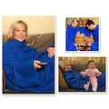 45692740 - Giyilebilir Kollu Battaniye - Mavi - n11pro.com