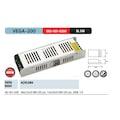 79656409 - Horoz Elektrik Vega-200 17 Amper Slım Tip Şerit Led Trafosu 17A - n11pro.com