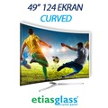 "81940670 - Etiasglass 49""124 Ekran Curved TV Ekran Koruyucu - n11pro.com"