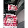 73043626 - Başaran Tekstil Antik Kilim Serme Oto Koltuk Kılıfı Kırmızı - n11pro.com