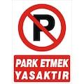 11659624 - Rüzgar Güvenlik Park Etmek Yasaktır 25x35 CM-2.6 MM Dekota Levha - n11pro.com