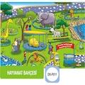 98702694 - Eksen Hayvanat Bahçesi  35x25x0.8 CM 35 Parça Ahşap Puzzle - n11pro.com