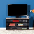 49001605 - Adore Flat Line Üç Bölmeli Tv Sehpası Latte Antrasit - n11pro.com