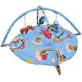 50983348 - Baskaya Oyun Halısı Yuvarlak Mavi - n11pro.com
