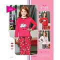 45505463 - Fapi 3115 Kız Çocuk Kadife Kuzulu Pijama Takım - n11pro.com