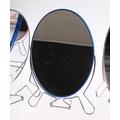 16075679 - Çift Taraflı Ayaklı Elips Makyaj Aynası 14.5 CM - n11pro.com