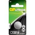 09057451 - GP Tek'li CR2016 3V Lityum Düğme Pil DL2016 GPCR2016-2C1 - n11pro.com