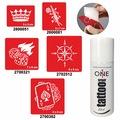 72003391 - One Spray Tattoo Sprey Dövme Seti Rota Ve Şans - n11pro.com
