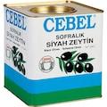 36936670 - Cebel 261-290 KB Siyah Zeytin Teneke 10 KG - n11pro.com