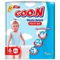 09652697 - Goon Mutlu Bebek Külot Bez 6 Numara 24 Adet - n11pro.com