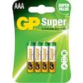 33401499 - GP 4'lü Super Alkalin AAA Boy İnce Kalem Pil (GP24AU-2U4) - n11pro.com