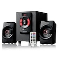 76893757 - Mikado MD-216BT 2+1 8 + 3 W 2 Usb SD Fm Bluetooth Destekli Speaker Siyah - n11pro.com