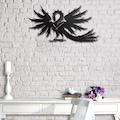 29707576 - Messken Metal Duvar Saati Şık ve Özgün Tasarım Siyah T45 - n11pro.com