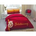 36051088 - Taç Çift Kişilik Lisansli Nevresim Takımı Galatasaray Striped - n11pro.com