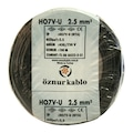 45799057 - Öznur Kablo 2.5 Nya Siyah 100 M - n11pro.com