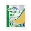 99910767 - Ekomis 9'lu Temizlik Bezi Sarı - n11pro.com