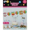 29295834 - Kikajoy Doğum Günü Temalı Renkli Sıralı Petek Süs - n11pro.com
