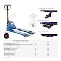 10598104 - Atlas ATTPH 4 Hareketli Transpalet 2500 KG - n11pro.com