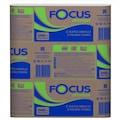 09759676 - Focus Optimum 2 Katlı Z Katlama Havlu Kağıt 200'lü 12 Paket 20 x 24 CM - n11pro.com
