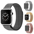 05311884 - Alaca Apple Watch 2 Seri 42 MM Çelik Orme Kordon Gold - n11pro.com