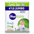 13811415 - Sleepy Natural Bebek Bezi 4+ Numara Maxi Plus 4'lü Jumbo 104 Adet - n11pro.com
