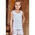 09446291 - Güneri 6'lı Kız Çocuk Kalın Askı Atlet Beyaz - n11pro.com