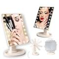 24995222 - 22 Ledli 360 Derece Dönebilen Makyaj Aynası - n11pro.com