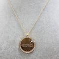 38313458 - Favilla Takı İsim Yazılan Kolye Taşlı Plaka - n11pro.com