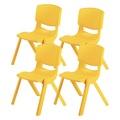 38611249 - Fiore Büyük Şirin Çocuk Sandalyesi 4'lü Set - n11pro.com