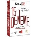 08151897 - 2019 KPSS Eğitim Bilimleri Çözümlü 15 Deneme - n11pro.com