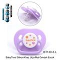 10265475 - Baby Time Silikon Kiraz Uçlu Emzik No.3 +18 Ay Asorti - n11pro.com