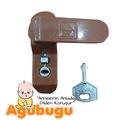 14317986 - Agubugu Baby Pimapen Kapı Pencere Çocuk Emniyet Kilidi Kahve - n11pro.com