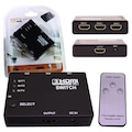 52746084 - Powermaster 3 In 1 Out HDMI Switcher S-link SL-HSW33 - n11pro.com