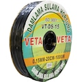 32417381 - Veta VT-DS-15 Damla Sulama Hortumu 1.5 MM x 1000 M Siyah - n11pro.com