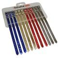 17376121 - Cixcat Küçük Irk Parlak Köpek Tasması 12 Adet Çok Renki 1.5 x 30 CM - n11pro.com