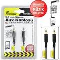 81946141 - Automix Universal Aux Kablo Siyah - n11pro.com