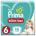 71017204 - Prima Pants Tekli Külot Bez 6 Beden 15+ KG 15'li - n11pro.com