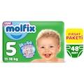 06744005 - Molfix 3D Junior Bantlı 11-18 KG Bebek Bezi 5 Beden 48 Adet - n11pro.com