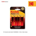 67551048 - Kodak Max Serisi Alkalin Büyük Pil - 2 Adet - n11pro.com