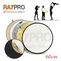 65825152 - Raypro 60 CM Profesyonel 5 in 1 Yansıtıcı Reflektör Seti - n11pro.com