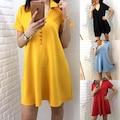 31380710 - Elisa Fashion Midi Boy Elbise - n11pro.com