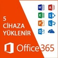 12892527 - Microsoft Office 365 5 PC - Windows ve Mac Uyumlu 1TB OneDrive - n11pro.com