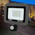 IMG-504178847357634086 - Apliqa IP65 30 W Sensörlü Projektör 6500K Gün Işığı Soğuk Beyaz - n11pro.com