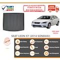 Seat Leon ST Üst Raf Halı Bagaj Havuzu (2014 Sonrası)